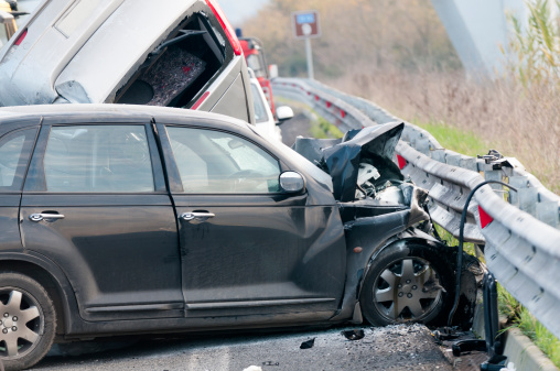 Seeing a doctor after car accident